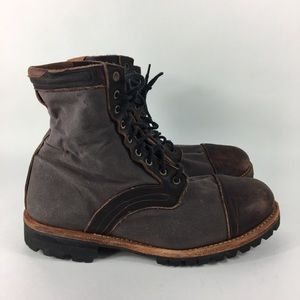 2011 Timberland Boots Tackhead Brown Leather Mens
